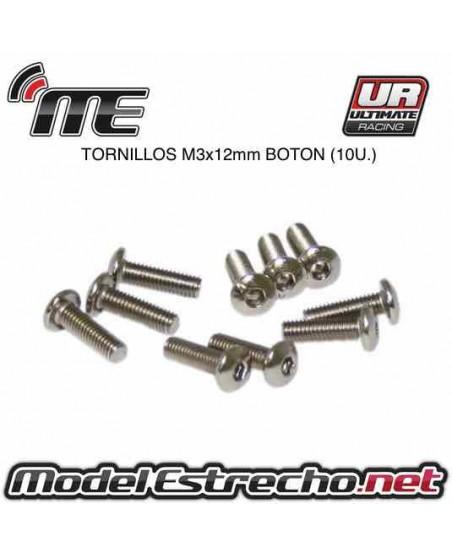 TORNILLOS SIG M3x12mm BOTON (10U.)