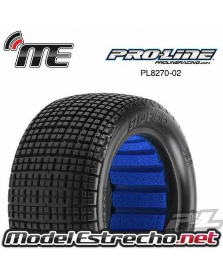 PROLINE TRAS. SLIBE JOB 2.2 M3 REAR TIRES 1/10