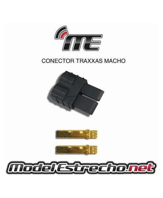 CONECTOR XT90 MACHO (1u.)