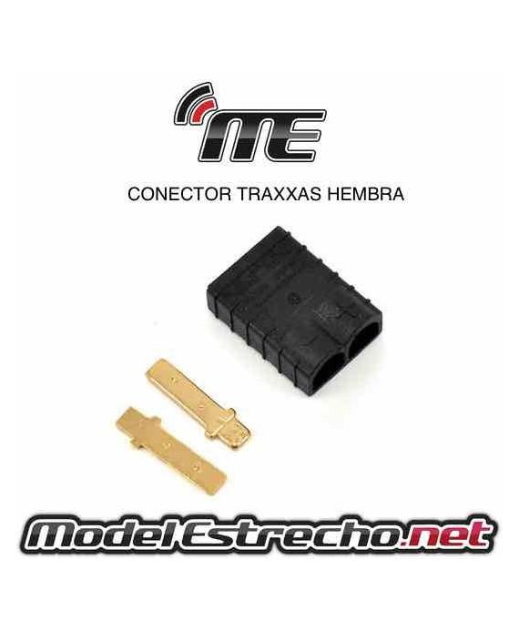 CONECTOR TRAXXAS MACHO (1u.)
