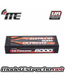 BATERIA ULTIMATE LIPO STICK 7.4V. 6000 mah 110C DOBLE CONEXION 4mm