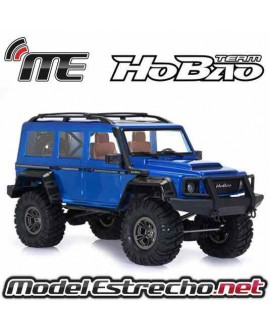 HOBAO DC1 1/10TH TRAIL CRAWLER RTR BLUE BODYSHELL