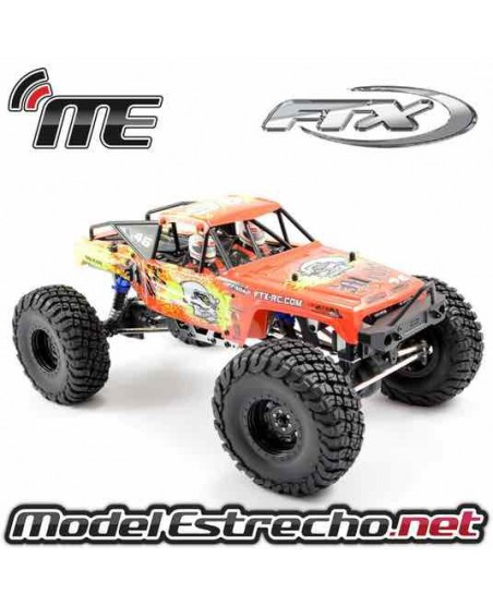 FTX MAULER 4X4 ROCK CRAWLER BRUSHED RTR 1/10 ROJO