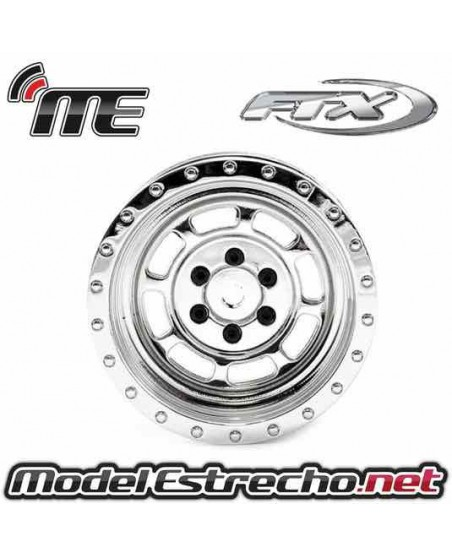 FTX MAULER CHROME WHEELS  (2U.)