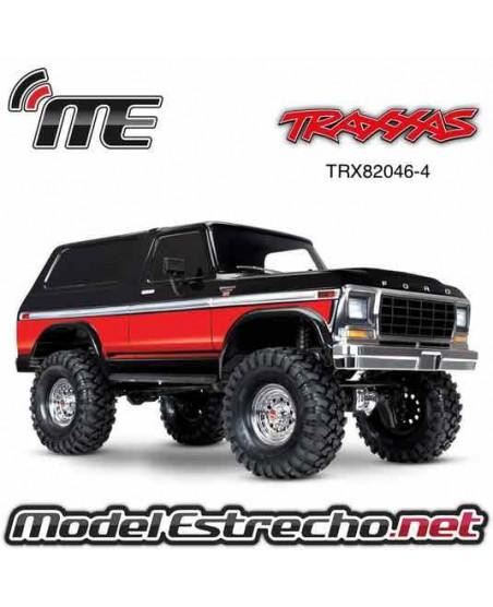 TRAXXAS TRX-4 BRONCO ROJO CRAWLER 1/10 2,4Ghz