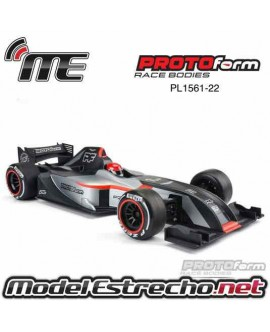 PROTOFORM F28 CLEAR BODY FOR 1/10 F1