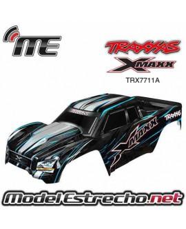 TRAXXAS CARROCERIA X-MAXX AZUL