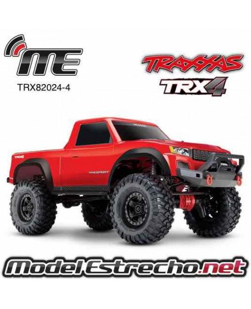TRAXXAS TRX-4 SPORT CRAWLER 1/10 2,4Ghz ROJO