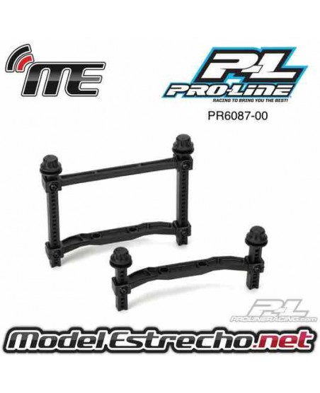 PROLINE BODY MOUNT EXTENDED FRONT AND REAR FOT SLASH 4X4