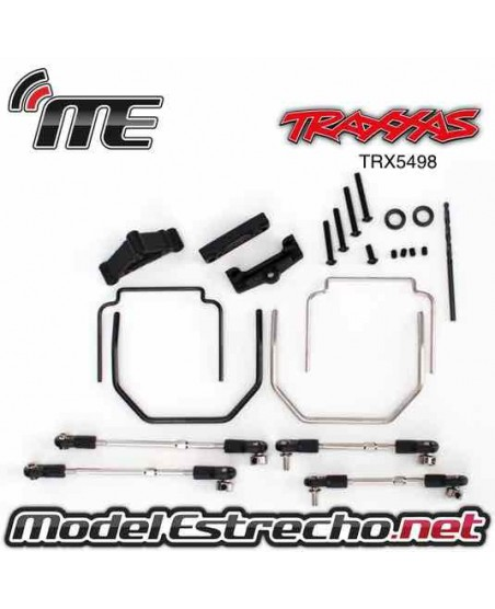 TRAXXAS SWAY BAR KIT REVO (FRONT AND REAR) INCLUDES THICK AND THIN)