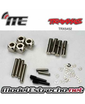 TRAXXAS U-joints, driveshaft (carrier (4) 4.5mm cross pin (4) 3mm cross pin (4) e-clips EREVO 2 VXL BRUSHLESS