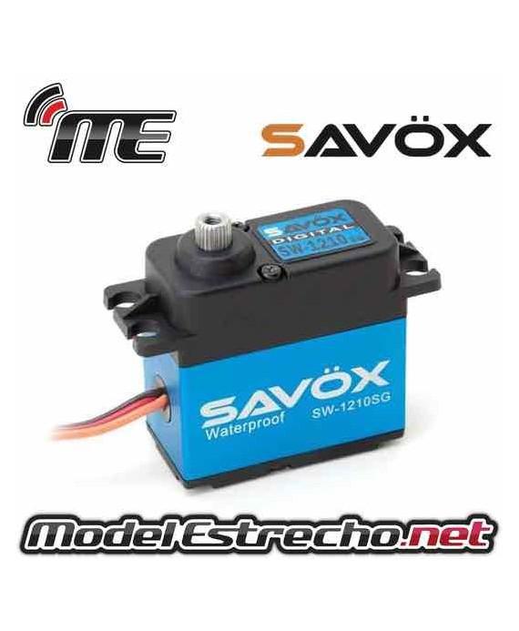 SERVO SAVOX SW1210SG 6V 20Kg 0.15 Seg.