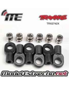 TRAXXAS ROD ENDS SHORT (6) HOLLOW BALIS