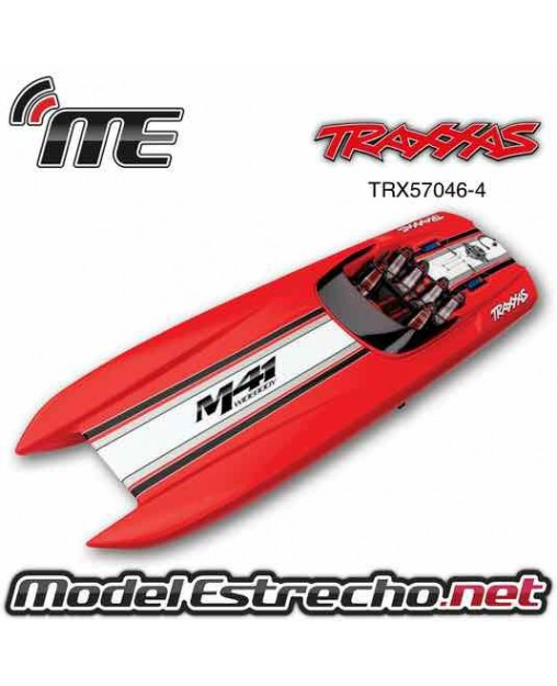TRAXXAS DCB M41 WIDEBODY CATAMARAN LANCHA RTR TQi BRUSHLESS