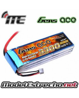 Gens Ace 3300mah 11,1v 25C 3S1P LIPO BATERIA PACK
