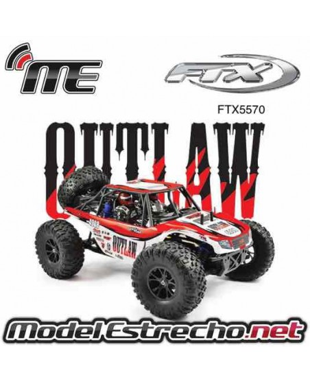 COCHE FTX OUTLAW 1/10 BRUSHED 4WD RTR ULTRA BUGGY