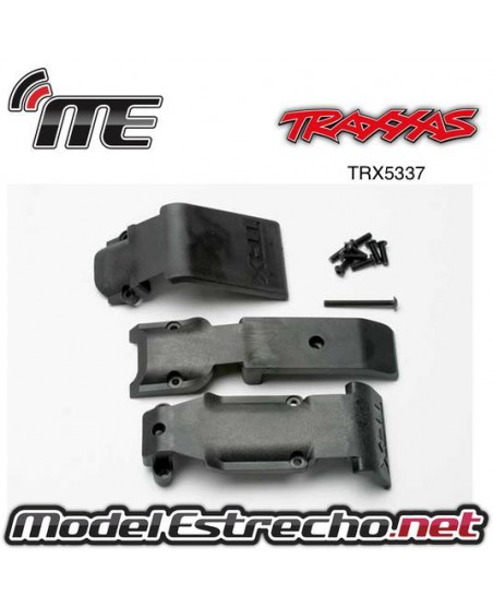 TRAXXAS SKID PLATE SET FRONT (2 PIEZAS) AKID PLATE REAR