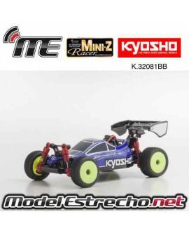 KYOSHO MINI-Z MB010S 4WD 1/24 INFERNO MP9 TKI3 AZUL/NEGRO