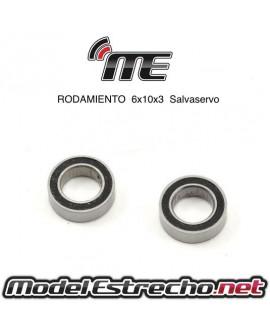 RODAMIENTOS SALVASERVOS 6X10 MUGEN MBX6/7/7R (2U.)
