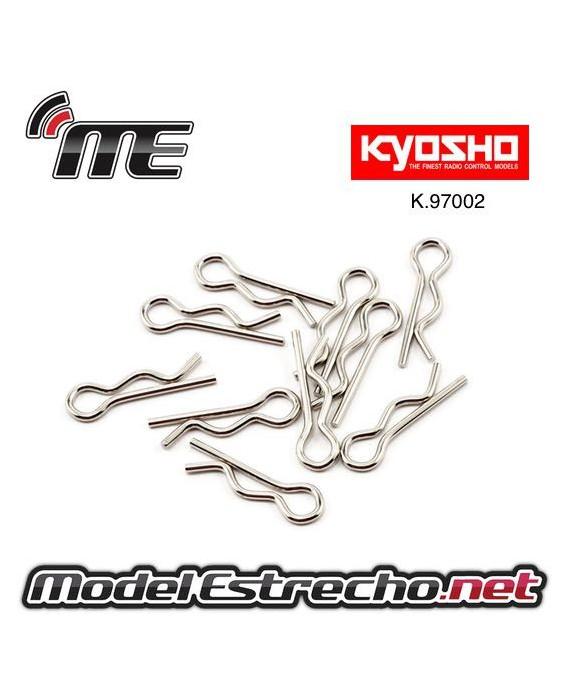 CLIPS CARROCERIA KYOSHO 1/8 (10U.)
