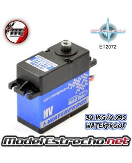 ETRONIX 6V 30.3Kg 0.09 Seg. STD DIGITAL SERVO METAL GEAR WATERPROOF