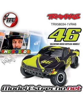 TRAXXAS SLASH TQ 2.4GHZ VR46 VALENTINO ROSSI EDITION