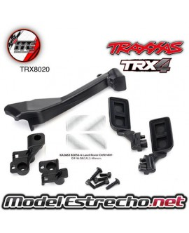 TRAXXAS MIRRORS SIDE (LEFT & RIGHT) SNORKEL MOUNTING HARWARE
