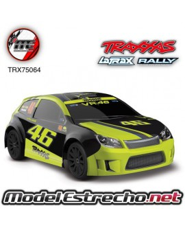 TRAXXAS LATRAX RALLY 1/18, BRUSHED RTR VR46 ROSSI EDITION