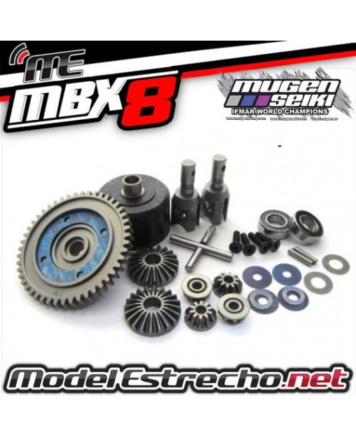 DIFERENCIAL COMPLETO CENTRAL MUGEN MBX8 NITRO