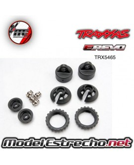 TRAXXAS CAPS AND SPRING RETAINERS, GTR SHOCK (UPPER CAP (2)/ HOLLOW