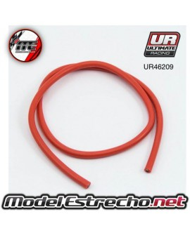 CABLE SILICONA ROJO 12AWG ( 50cm )