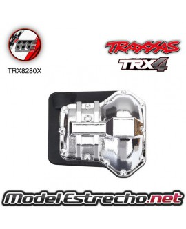TRAXXAS DIFFERENTIAL COVER FRONT OR REAR CROMADO