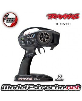 TRAXXAS EMISORA TQI 2.4 Ghz HIGH OUTPUT RADIO ONLY 2-CH TRX LINK ENABLED