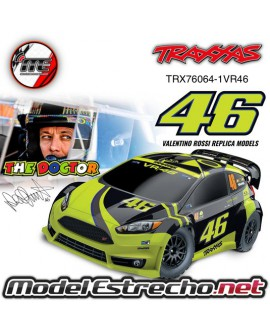TRAXXAS RALLY FORD FIESTA ST ELECTRICO ROSSI EDITION
