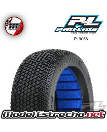 PROLINE INVADER 1/8 BUGGY TYRES W/CLOSED CELL