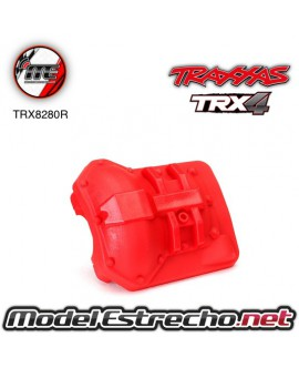 TRAXXAS DIFFERENTIAL COVER FRONT OR REAR ROJO