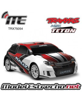 TRAXXAS LATRAX RALLY 1/18, BRUSHED RTR ROJO