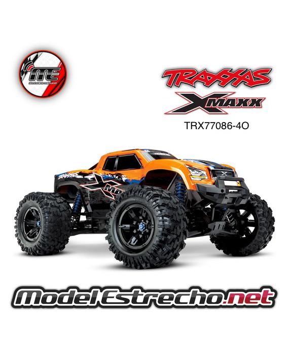 TRAXXAS X-MAXX 8S 4WD RTR MONSTER TRUCK  NARANJA