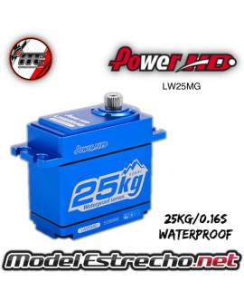 SERVO POWER HD DIGITAL  6V 25Kg 0.16 Seg. STD DIGITAL SERVO METAL GEAR WATERPROOF