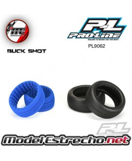 PROLINE BUCK SHOT 1/8 BUGGY TYRES W/CLOSED CELL