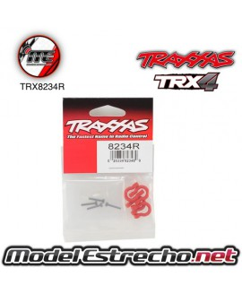 TRAXXAS BUMPER D-RING RED