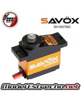 SERVO SAVOX SH0257MG MICRO SERVO