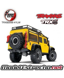 TRAXXAS TRX-4 LAND ROVER DEFENDER CRAWLER TQi XL-5 1/10 2,4Ghz  AMARILLO