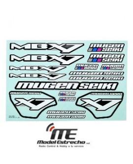 MUGEN MBX 7 ECO PEGATINAS