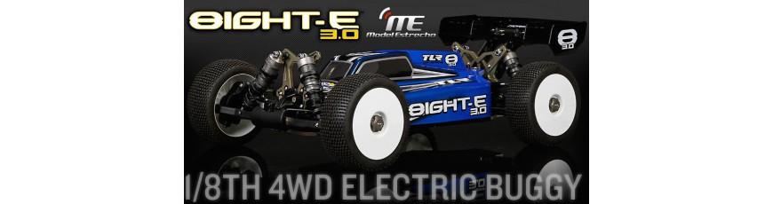 TLR 8IGHT-E 3.0 & 4.0